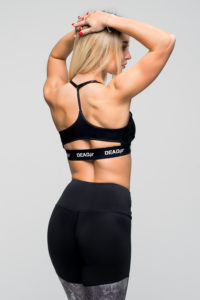 Fitness tights i et unik smukt design